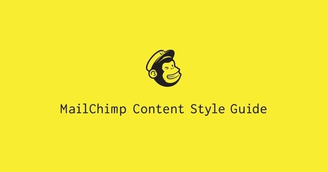 Writing for Social Media | MailChimp Content Style Guide | Transmedia Storytelling meets Tourism | Scoop.it