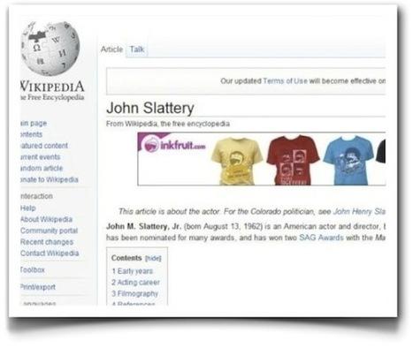 Wikipedia y la publicidad | Redes Sociales ES | Scoop.it