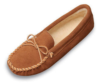 Traditional Pile Lined Slipper - Shop Mens, Womens, Childrens Moccasins - The Moccasin Shop | TheMoccasinShop | Scoop.it