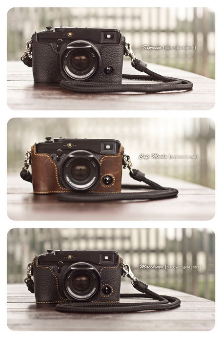 Finding: Kenji Leather Half Case for Fujifilm X-Pro1 | Ebay | Fuji X-Pro1 | Scoop.it
