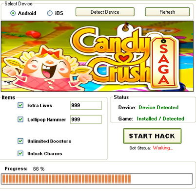 Candy Crush Saga hack - Candy Crush Cheats Tool | Top Android and iOS games News | Scoop.it