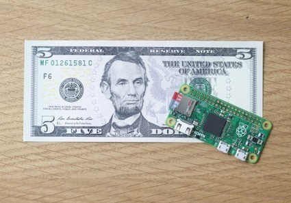 Raspberry Pi Zero for $5, free with Dec. issue of The MagPi | TechCrunch | Cultibotics | Scoop.it