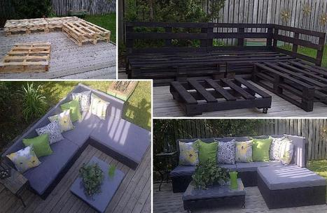 An outdoor furniture DIY | Le jardin créatif | Scoop.it