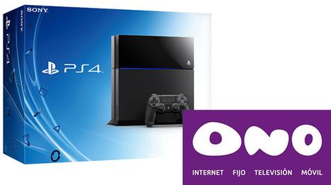 ONO será el proveedor de fibra óptica para la PS4 de Sony - ComputerHoy | Social Media | Scoop.it