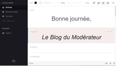 FontBase : un gestionnaire de polices de caractères gratuit - Blog du Modérateur | TIC et TICE mais... en français | Scoop.it