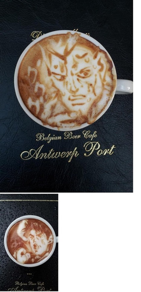 [Galería] Increíble arte de anime en café latte - World Anime | Fotografia arte | Scoop.it