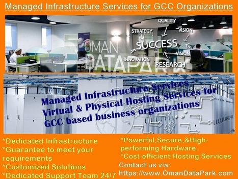 Hosting and Managed Service Provider: Best-in-class Managed Infrastructure Services Provided by Oman Data Park   Software And Technology   Scoop.it