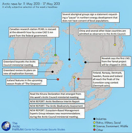 The Arctic This Week: 11 May 2013 – 17 May 2013 - The Arctic Institute | polar bears research | Scoop.it