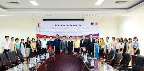 Signature d'une convention de partenariat entre l'Ambassade de France au Vietnam et l'Institut polytechnique de Hanoi | Liên-Viêt Réseau culturel France Vietnam | Scoop.it