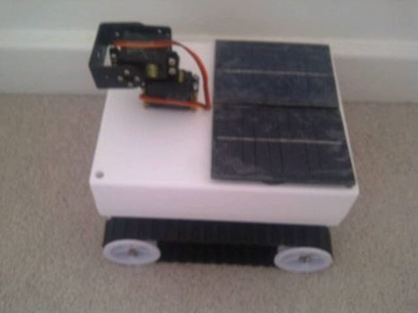 Solar panels arrived for #CuriousPi, my @Raspberry_Pi powered rover. | Raspberry Pi | Scoop.it
