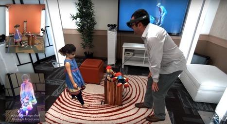 Microsoft presenta su última innovación basada en el HoloLens: 'Holoportation' | TecNovedosos.com | Tecnología e Innovación | Scoop.it