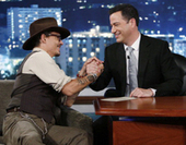 Johnny Depp explains why One Direction was at his house - Zap2it.com (blog) | RandomFamous | Scoop.it