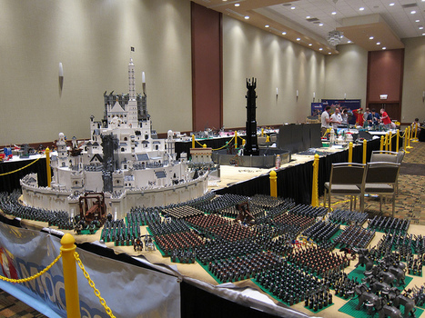 Lord of the Rings at Brickworld 2011 | All Geeks | Scoop.it