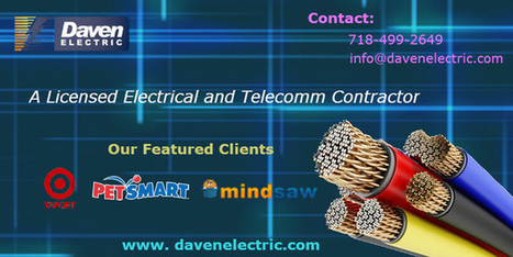 NewYork Industrial Electricians | Daven Electric Inc - A NYC Electrician | Scoop.it