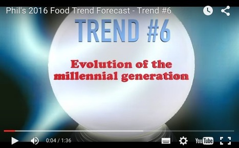 SupermarketGuru - Phil's 2016 Food Trend Forecast - Evolution of the Millenial Generation | Charliban Worldwide | Scoop.it