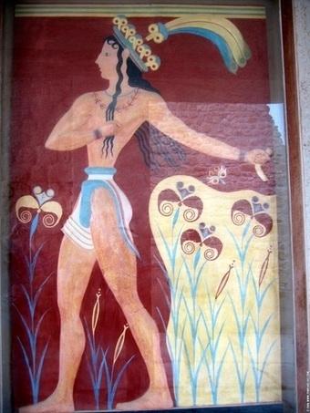 Civilización minoica - Fresco photos on Fotopedia - Images for Humanity | Cultura grecolatina | Scoop.it