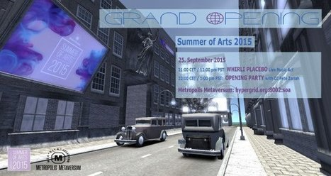 Summer of Arts expo opens FridayHypergrid Business | Metatrame | Scoop.it