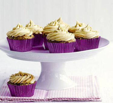 Vegan banana & peanut butter cupcakes   My Vegan recipes   Scoop.it