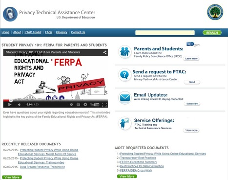 Privacy Technical Assistance Center (PTAC) | U.S. Department of Education | FERPA | Digital CitizenShip | college and career ready | Scoop.it