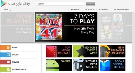 Google Dumps Android Market For Google Play | Thedroidguy | Scoop.it