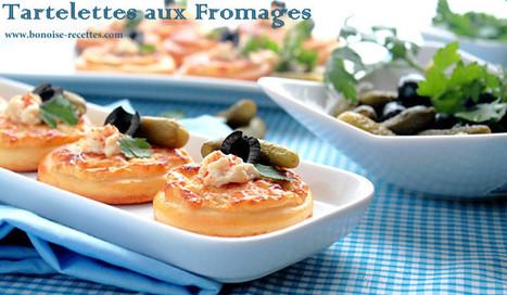 Tartelettes aux 3 Fromages   cuisine algerienne et recettes de ramadan   Scoop.it