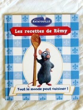 les recettes de cuisine de Rémy [Ratatouille - Disney] : Librairie Activités Enfants par la-boite-a-tresors   Je fais quoi de mes enfants ce week-end ? Et pendant les vacances ??   Scoop.it
