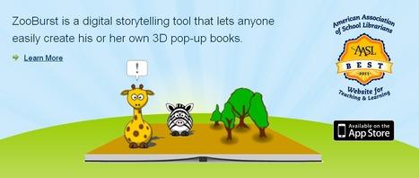 Crea tus propios libros en 3D con ZooBurst vía @ineverycrea:  #ineverycrea   pacopanseco   Scoop.it