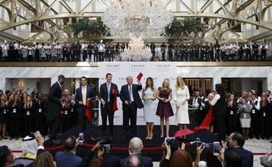 As his campaign flags, Trump cuts a hotel ribbon - The Boston Globe | Business Video Directory | Scoop.it