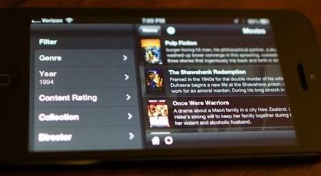 Plex for iOS 3.1 brings a mobile media server, deep content filters | App Buzz | Scoop.it