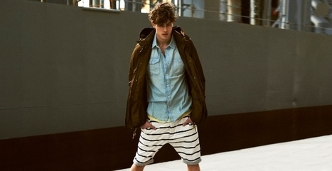 Bershka Men Spring-Summer 2013 The Summer Uniform Lookbook ~ Men Chic- Men's Fashion and Lifestyle Online Magazine | Men's Fashion Trends | Scoop.it