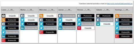 Calendario editorial: plantilla para organizar tus contenidos cada semana – d+m, blog de Eva Sanagustín | Educacion, ecologia y TIC | Scoop.it