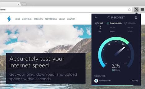 Una manera simple de medir la velocidad de conexión a internet desde Chrome | Aprendiendoaenseñar | Scoop.it
