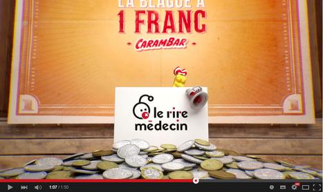 Carambar au profit du Rire Médecin avec la blague à 1 franc   Citizen Com   Scoop.it