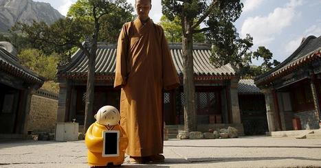 En Chine, un moine-robot pour propager le bouddhisme 4.0   Robotique & Intelligence artificielle   Scoop.it