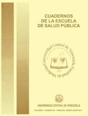 En linea primer ejemplar virtual de los Cuadernos de la Escuela de Salud Pública #UCV. Vol 1, No 85 (2013)   Salud Publica   Scoop.it