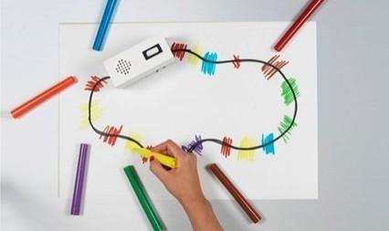 Mini robots turn color into music | GizMag.com | Musique, Arts visuels | Scoop.it