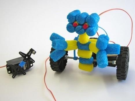 Dynamo Rover : Un petit robot qui fonctionne sans pile | Semageek | Actualité robotique | Scoop.it