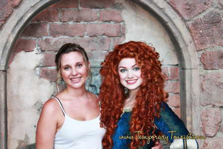 Have you Visited with Merida from Brave at Magic Kingdom? | Walt Disney World Parks and Resorts | Scoop.it
