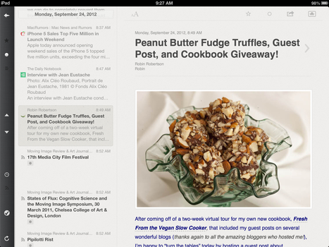 Reeder: RSS Readers for iPad, iPhone, and Mac | academiPad | Scoop.it