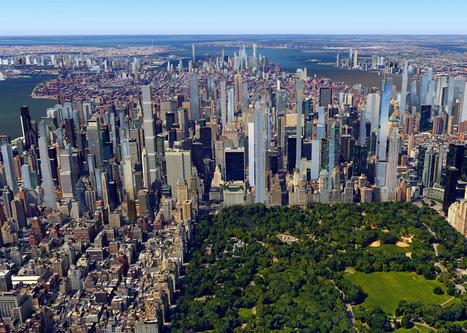 New York's 2020 SKYLINE shown in new visualisations | URBANmedias | Scoop.it