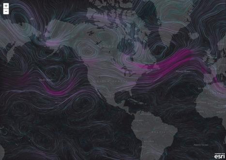 Wind Animation Map ESRI JS API | data duty | Scoop.it