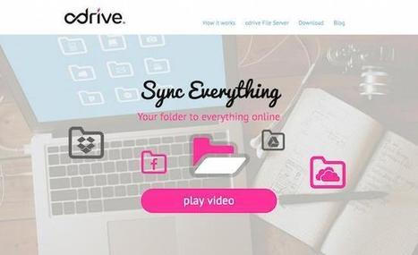 Odrive: cómo mantener organizados nuestros archivos de diferentes servicios de almacenamiento en la nube | rincóndeaula | Scoop.it