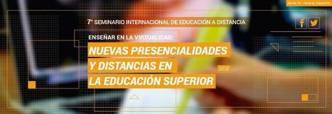7mo Seminario Internacional de Educación a Distancia   Congresos y Jornadas en Educación   Scoop.it