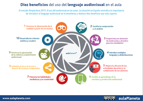 Diez beneficios del uso del lenguaje audiovisual en el aula | aulaPlaneta | EduTIC | Scoop.it