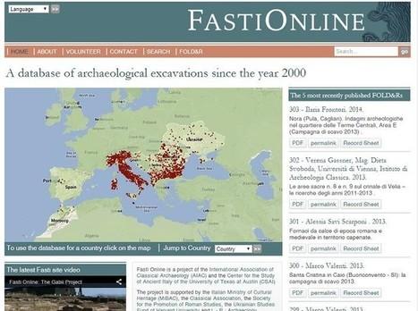 España se suma al proyecto arqueológico Fasti Online gracias a la Universidad de Salamanca | Criterios de innovación periodística y tecnológica | Scoop.it