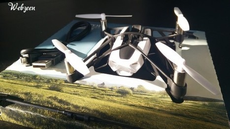 [TEST] Notre avis sur le Mini-drone Parrot Rolling Spider | WebZeen | Tests | WebZeen | Scoop.it
