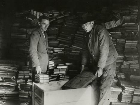Enquête: à la recherche des manuscrits spoliés par les Nazis - Rue89 | Archives  de la Shoah | Scoop.it