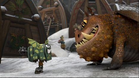 Several Clips From Dreamworks' How To Train Your Dragon Mini-Sequels | Transmedia Production (by Uzzi) | Scoop.it
