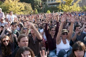 Mic check! Dispatch from Occupy Wall Street | rabble.ca | We are the 99% | Scoop.it