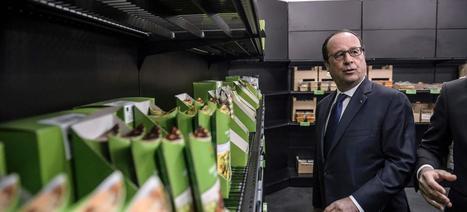 Hollande a inauguré la plus grande halle bio d'Europe : «Rungis crée de l'emploi» | De la Fourche à la Fourchette (Agriculture Agroalimentaire) | Scoop.it